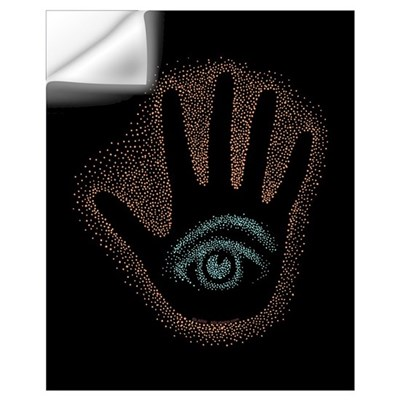 Dark Petro EyeHand Wall Decal