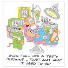 TEETH CLEANING Poster