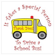 School Bus Driver Poster