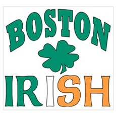 Boston irish Canvas Art