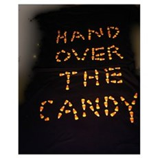 handover the candy Poster
