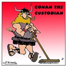 Conan the Custodian Poster