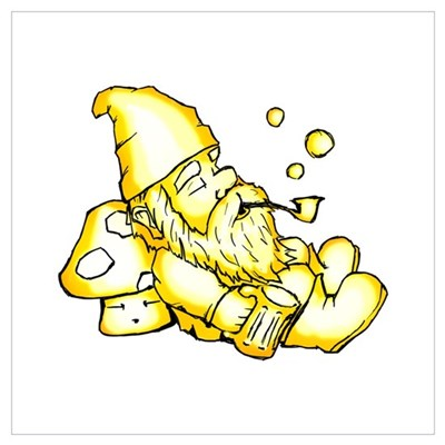 Pipe Gnome Poster