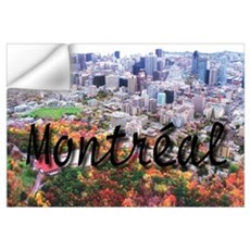 Montreal City Signature cente Wall Decal