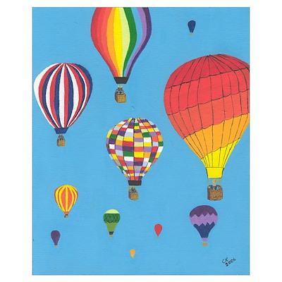 Albuquerque Balloons Poster