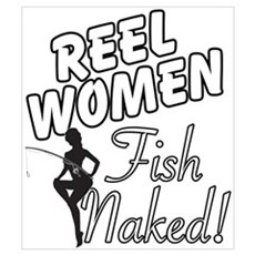 Real Women Fish Naked Poster