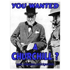 Winston Churchill Cigar Poster