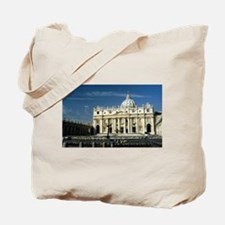 St Peters Basilica Tote Bag