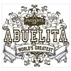 Property Of Abuelita Poster