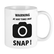 I May Snap Small Mug