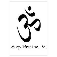 Om: Breathe & Be.