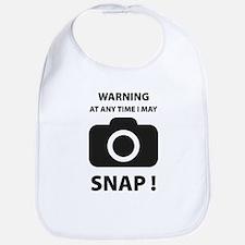 I May Snap Bib