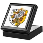 Flaming Gryphon Keepsake Box