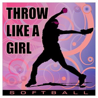 2011 Softball 2 Poster