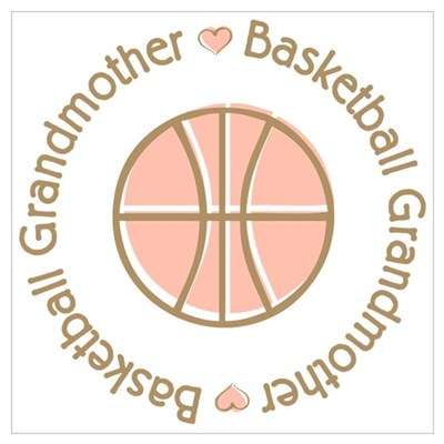 Basketball Grandmother Poster