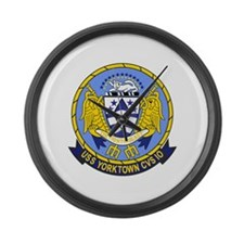 Air Carrier Wing Large Wall Clock