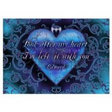 Edward's Heart-Twilight Poster