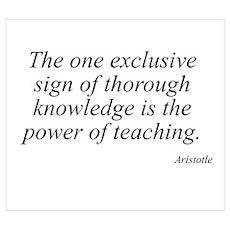Aristotle quote 86 Poster