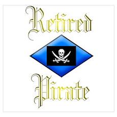 Pirate's Retirement. Poster