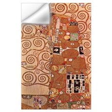 Gustav Klimt Art Deco Print - Embrace Wall Decal