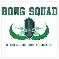 Bong Squad Poster