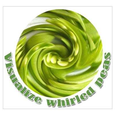 Whirled Peas Canvas Art