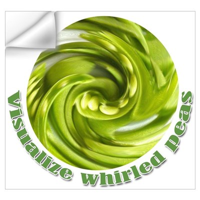 Whirled Peas Wall Decal