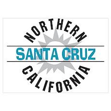 Santa Cruz California Poster