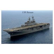 USS Bataan Poster