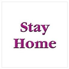 Stay Home Euchre Canvas Art