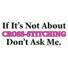 Cross-Stitching Poster
