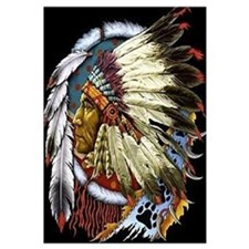 INDIAN CHIEF WHITE CLOUD