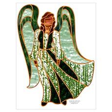 Green Angel Poster