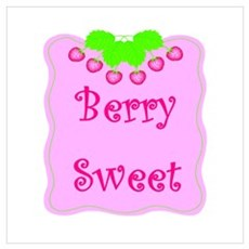 Berry Sweet Poster