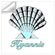Hyannis Shell Wall Decal