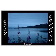 Loch Lommond Scotland Poster