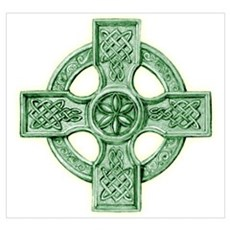 Celtic Cross Equilateral Framed Print