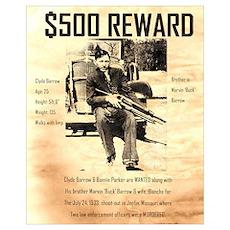 Clyde Barrow Poster