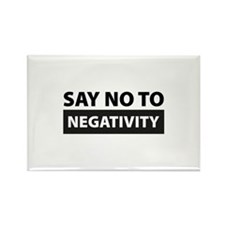 Say No To Negativity Rectangle Magnet (10 pack)