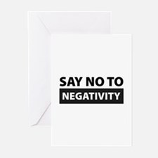 Say No To Negativity Greeting Cards (Pk of 20)