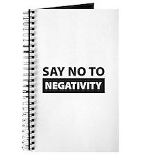 Say No To Negativity Journal