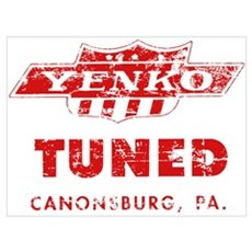 YENKO TUNED TRIBUTE Framed Print