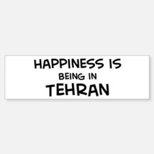 Happiness is Tehran Bumper Bumper Bumper Sticker