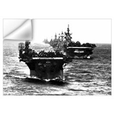 WWII AIRCRAFT CARRIERS Wall Decal