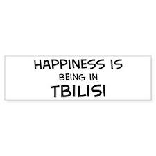 Happiness is Tbilisi Bumper Bumper Sticker