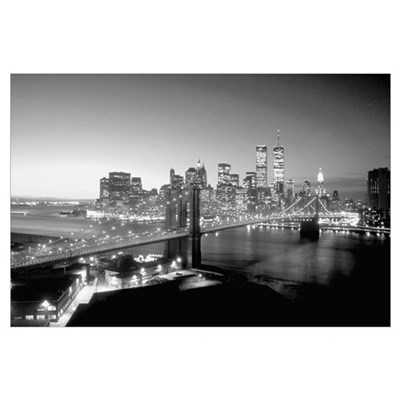 Manhattan Bridge New York Poster