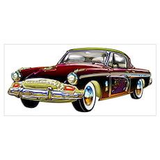 Classic Custom Studebaker Poster