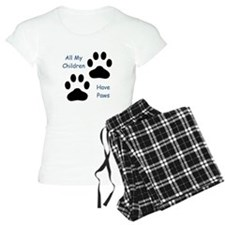 All My Children Have Paws 1 pajamas
