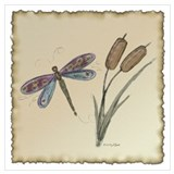 Bugs and insect Wrapped Canvas Art