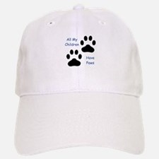 All My Children Have Paws 1 Baseball Baseball Cap